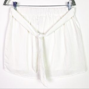 NWT by the way. White Cotton Swim Cover Skirt